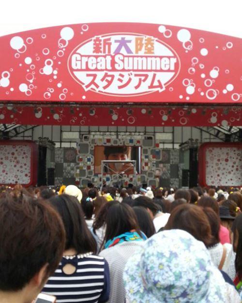 ジュノめざましライブ2014フリーエリア