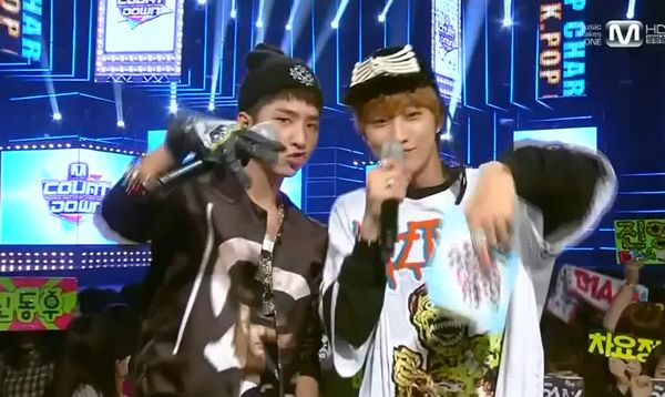b1a4 mcountdown mc